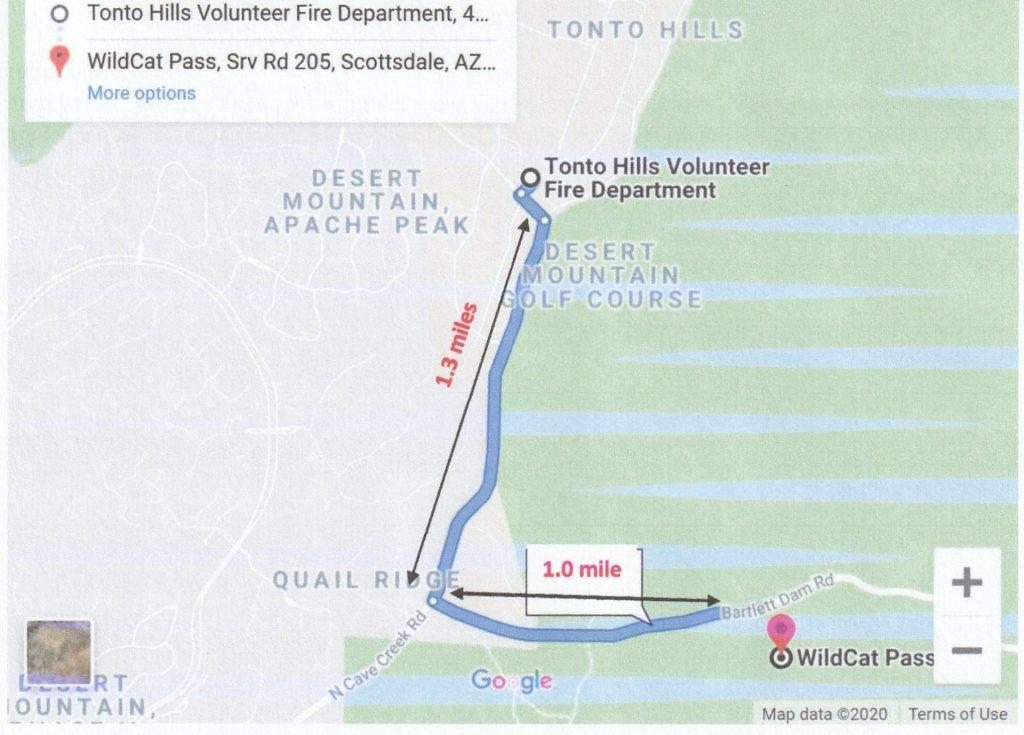 Wildcat Map